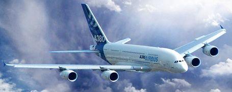 Större flygplan bra för miljön